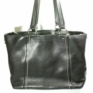Prada Pebbled Leather Tote
